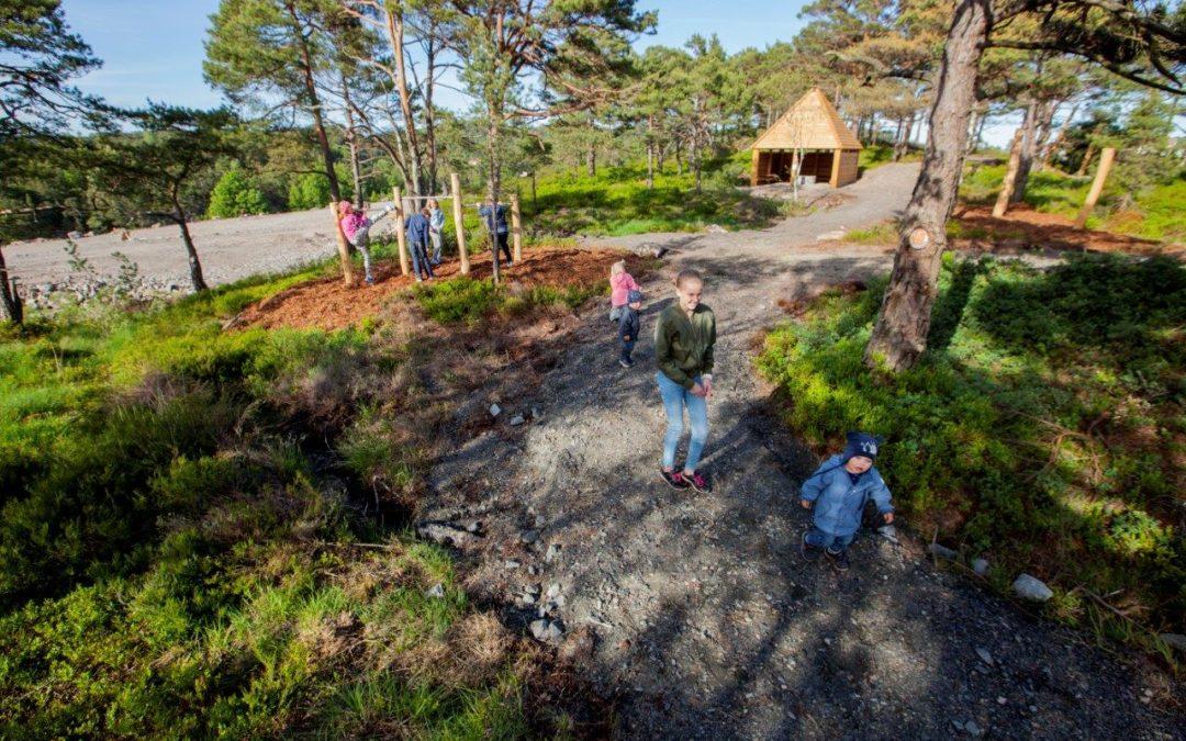 Kjellandsheia – et perfekt sted å vokse opp.