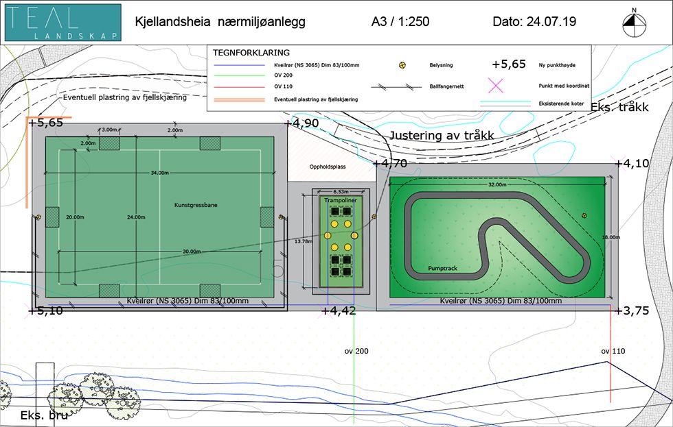 Nå bygges nærmiljøpark i Kjellandsheia